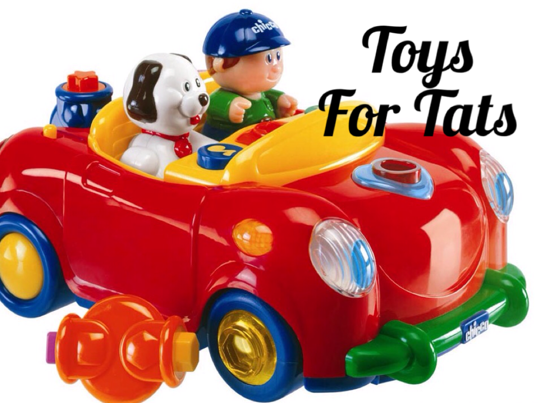 Toys For Tats : Join exotic eye tattoo in helping to raise toys for tats