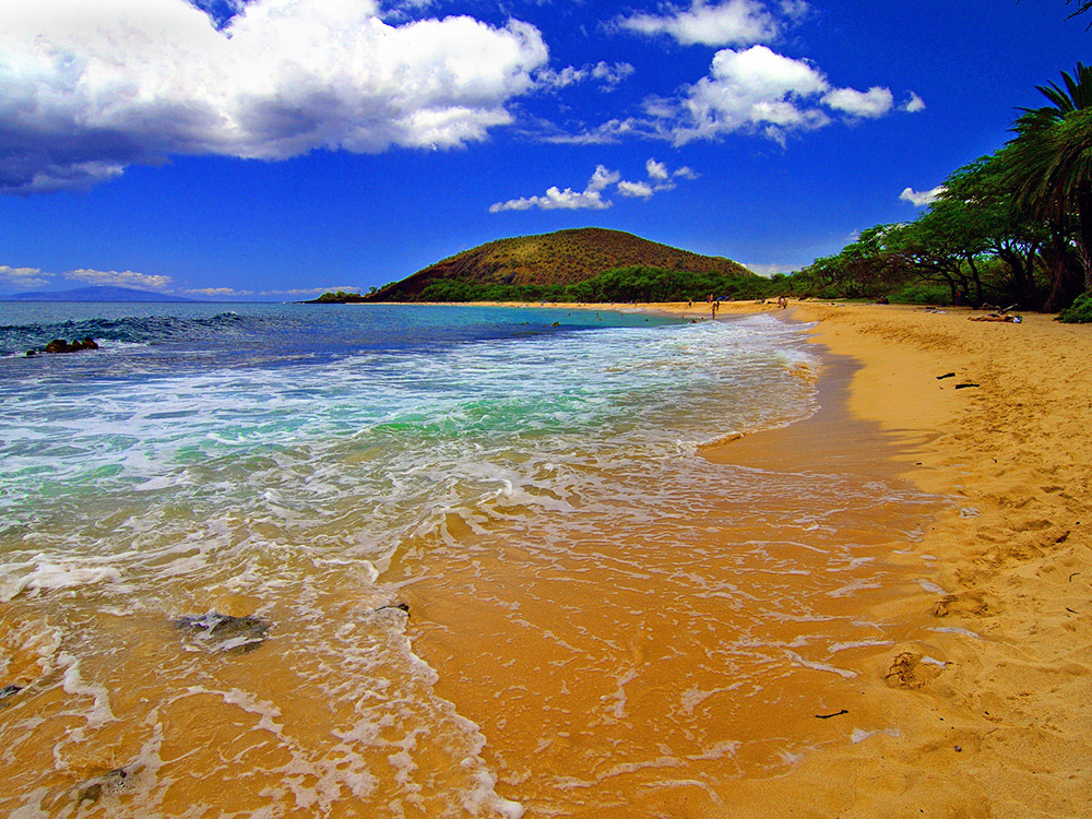 Big Beach in Maui, Hawaii