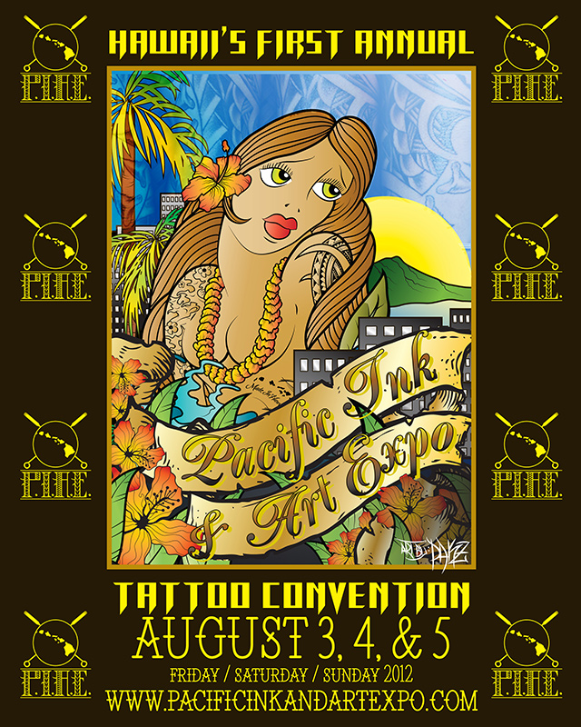 Hawaii 39 s first annual tattoo convention exotic eye tattoo for Hawaii tattoo expo
